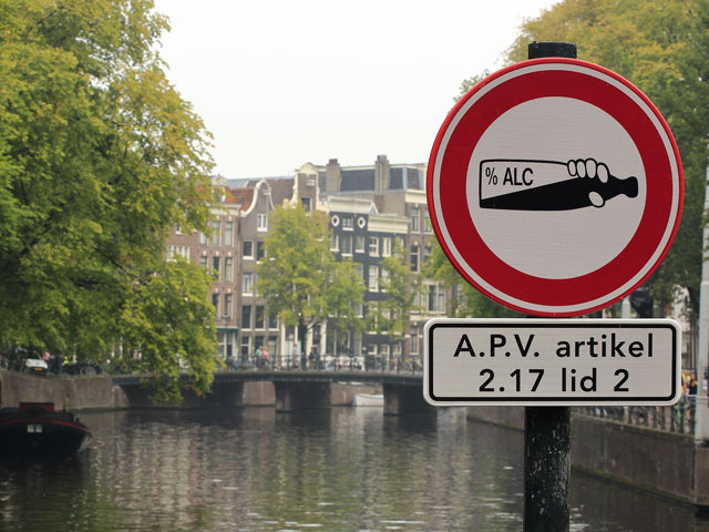 Amsterdam  eine Stadt am Party-Limit