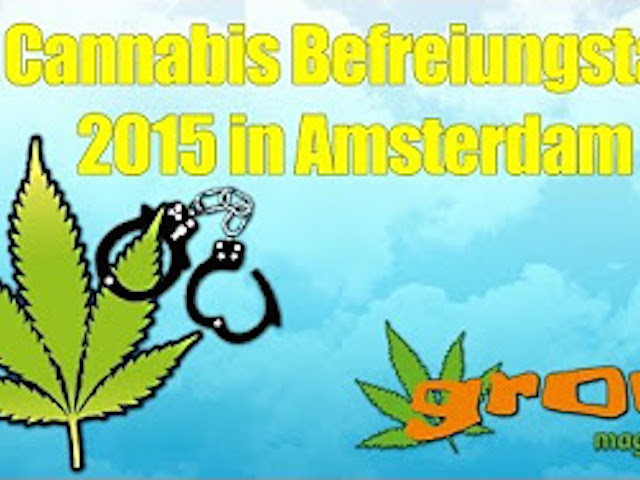 Video vom Cannabis Befreiungstag in Amsterdam 2015