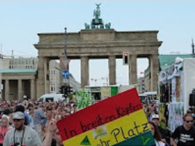 Video zur 2015 Hanfparade in Berlin